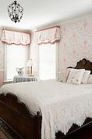 romantic floral bedroom