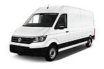 2019 Volkswagen Crafter Base 4 Door Cargo Van angular front stock photos of front three quarter view