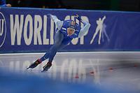 SPEEDSKATING: 07-12-2018, Tomaszów Mazowiecki (POL), ISU World Cup Arena Lodowa, 500m Men Division A, Håvard Holmefjord Lorentzen (NOR), ©photo Martin de Jong