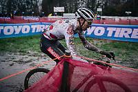 World Cup leader Michael Vanthourenhout (BEL/Pauwels Sauzen-Bingoal)<br /> <br /> UCI cyclo-cross World Cup Dendermonde 2020 (BEL)<br /> <br /> ©kramon