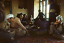 Iran 1982.In the house of the chief of Engawe