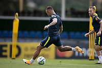 10th November 2020; Granja Comary, Teresopolis, Rio de Janeiro, Brazil; Qatar 2022 qualifiers; Everton of Brazil during training session in Granja Comary