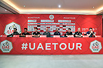 Top Riders press conference for the UAE Tour 2020 held at<br /> Westin Dubai Mina Seyahi Beach Resort and Marina. 22nd February 2020.<br /> Picture: LaPresse/Massimo Paolone | Cyclefile<br /> <br /> All photos usage must carry mandatory copyright credit (© Cyclefile | LaPresse/Massimo Paolone)