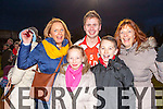 Brosna defender Thomas Fitzgerald celebrate with his family  Caroline, Michelle Alan and Mary Therese after they won the Munster Junior final against Glin in Mallow on Sunday