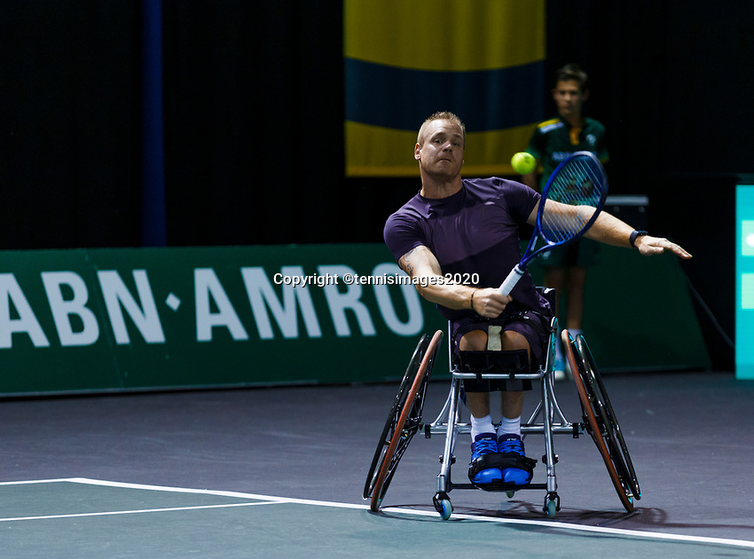 Rotterdam, The Netherlands, 12 Februari 2020, Wheelchair: Maikel Scheffers (NED).<br /> Photo: www.tennisimages.com