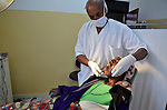 Dental surgery at Gisenyi Community Hospital in northwest Rwanda..