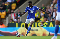 28th August 2021; Carrow Road, Norwich, Norfolk, England; Premier League football, Norwich versus Leicester; Wilfred Ndidi of Leicester City