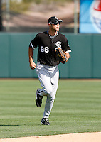 Jordan Danks -  Chicago White Sox - 2009 spring training.Photo by:  Bill Mitchell/Four Seam Images