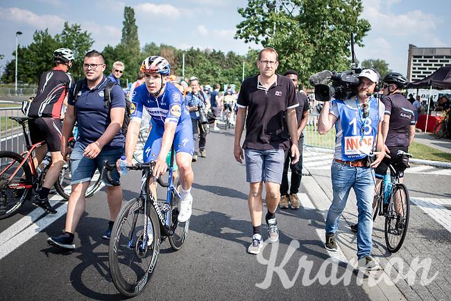 race winner Alvaro Hodeg (COL/Deceuninck Quick Step) <br /> <br /> Heistse Pijl 2019<br /> One Day Race: Turnhout > Heist-op-den-Berg 194km (UCI 1.1)<br /> ©kramon