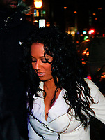 Montreal (Qc) CANADA, February 1st 2008<br /> Members of the Spice Girls including MEL B and her child (from Eddy Murphy) go to the Saint-James Hotel and to the afterparty at TRIBE HYPER CLUB , both on Saint-Jacques street in OLd-Montreal.<br /> <br /> -Photo (c)  Images Distribution