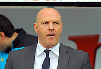 FAO SPORTS PICTURE DESK<br /> Pictured: Steve Kean manager for Blackburn Rovers. Saturday, 14 April 2012<br /> Re: Premier League football, Swansea City FC v Blackburn Rovers at the Liberty Stadium, south Wales.