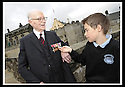 02/06/2008   Copyright Pic: James Stewart.File Name : sct_jspa06_veterans.FORMER ROYAL ENGINEER, LIEUTENANT COLONEL FRANK SAUNDERS, 101, TELLS SOME OF HIS WAR STORIES TO EUAN WEST FROM CORNTON PRIMARY AT THE VETERANS DAY EVENT LAUNCH AT STIRLING CASTLE.....James Stewart Photo Agency 19 Carronlea Drive, Falkirk. FK2 8DN      Vat Reg No. 607 6932 25.Studio      : +44 (0)1324 611191 .Mobile      : +44 (0)7721 416997.E-mail  :  jim@jspa.co.uk.If you require further information then contact Jim Stewart on any of the numbers above........
