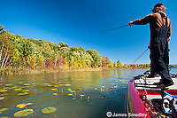 Angling for largemouth