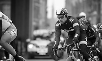 Gent-Wevelgem 2013.former Gent-Wevelgem winner Bernie Eisel (AUT) riding through Ieper.