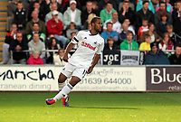 Pictured: Wayne Routledge of Swansea City in action. Saturday 17 September 2011<br /> Re: Premiership football Swansea City FC v West Bromwich Albion at the Liberty Stadium, south Wales.