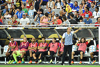 Glendale, AZ - Saturday June 25, 2016: Jurgen Klinsmann during a Copa America Centenario third place match match between United States (USA) and Colombia (COL) at University of Phoenix Stadium.