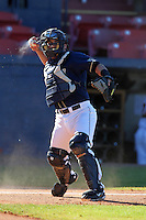 Pittsburgh Panthers Anthony DeFabio #6 during a game vs. the Central Michigan Chippewas at Chain of Lakes Park in Winter Haven, Florida;  March 11, 2011.  Pittsburgh defeated Central Michigan 19-2.  Photo By Mike Janes/Four Seam Images
