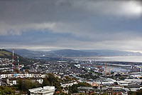 2019 09 25 A blue cloud over Swansea Bay, Wales, UK