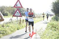 ATHLETIEK: JOURE: 30-09-2018, Jouster Merke Loop, Yke Zoetendal (#1118) - winnaar 15,6 km, ©foto Martin de Jong