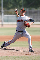 Zack Wheeler - San Francisco Giants 2009 Instructional League .Photo by:  Bill Mitchell/Four Seam Images..