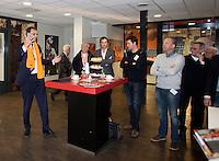 10-02-12, Netherlands,Tennis, Den Bosch, Daviscup Netherlands-Finland,