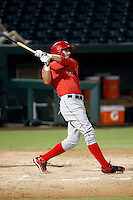 Kaleb Cowart - 2010 AZL Angels (1st round draft pick).Photo by:  Bill Mitchell/Four Seam Images..