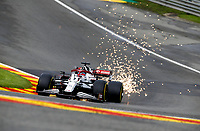 27th August 2021; Spa Francorchamps, Stavelot, Belgium: FIA F1 Grand Prix of Belgium, free practise:   7 Kimi Raikkonen FIN, Alfa Romeo Racing ORLENum
