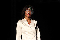 BELO HORIZONTE, MG,07.10.2015- MINAS-TREND -  Modelo durante desfile da grife Mabel Magalhães na 17ª edição do Minas Trend, no Expominas, em Belo Horizonte (MG), nesta terça-feira, 07. (Foto: Doug Patricio/Brazil Photo Press)