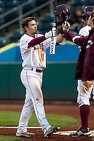 Aaron Conway (11) of the Missouri State Bears during a game vs. the Western Illinois Leathernecks at Hammons Field in Springfield, Missouri;  March 18, 2011.  Photo By David Welker/Four Seam Images