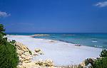 Italy, Sardinia, Cala Ginepro near Orosei - secluded beach