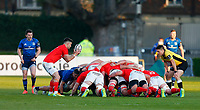 23th April 2021; RDS Arena, Dublin, Leinster, Ireland; Rainbow Cup Rugby, Leinster versus Munster; Conor Murray of Munster get ready to put the ball into the scrum