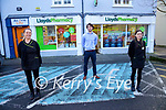 Staff at Lloyds pharmacy, Ashe street, Tralee Vera Heim, Shane Kearney and Sinead Walsh.