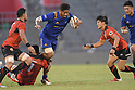 Japan Rugby Top League 2017-2018 : NTT Communications Shining Arcs 25-14 Toshiba Brave Lupus