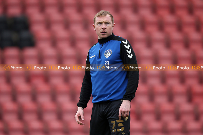 Nicky Adams of Oldham Athletic during Leyton Orient vs Oldham Athletic, Sky Bet EFL League 2 Football at The Breyer Group Stadium on 27th March 2021