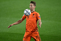 Luuk de Jong of Netherlands in action during the Uefa Nation A League Group 1 football match between Italy and Netherlands at Atleti azzurri d Italia Stadium in Bergamo (Italy), October, 14, 2020. Photo Andrea Staccioli / Insidefoto