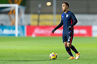 WIENER NEUSTADT, AUSTRIA - : Sergino Dest #2 of the United States moves with the ball during a game between  at Stadion Wiener Neustadt on ,  in Wiener Neustadt, Austria.