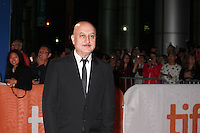 ANUPAM KHER - RED CARPET OF THE FILM 'THE HEADHUNTER'S CALLING' - 41ST TORONTO INTERNATIONAL FILM FESTIVAL 2016 . 15/09/2016. # FESTIVAL INTERNATIONAL DU FILM DE TORONTO 2016