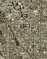 historical aerial photograph Denver, Colorado, 1999