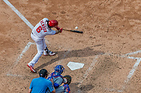 29 April 2017: Washington Nationals third baseman Anthony Rendon at bat against the New York Mets at Nationals Park in Washington, DC. The Mets defeated the Nationals 5-3 to take the second game of their 3-game weekend series. Mandatory Credit: Ed Wolfstein Photo *** RAW (NEF) Image File Available ***
