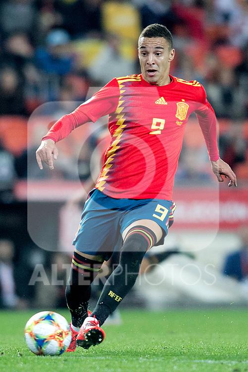 Spain's Rodrigo Moreno  during the qualifying match for Euro 2020 on 23th March, 2019 in Valencia, Spain. (ALTERPHOTOS/Alconada)