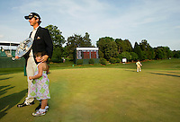 Golfer Sean O'Hair, shown here with his  4-year-old daughter Molly, receives the top award during the Quail Hollow Championship golf tournament 2009. The event, formerly called the Wachovia Championship, is a top event on the PGA Tour, attracting such popular golf icons as Tiger Woods, Vijay Singh and Bubba Watson. Photos from the final round in the Quail Hollow Championship golf tournament at the Quail Hollow Club in Charlotte, N.C., Sunday, May 03, 2009.
