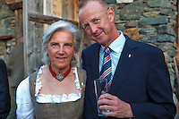 Austria, Kitzbuhel, Juli 15, 2015, Tennis, Davis Cup, Dutch team, Official dinner, Martin Koek<br /> Photo: Tennisimages/Henk Koster