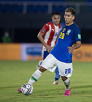 8th June 2021; Defensores del Chaco Stadium, Asuncion, Paraguay; World Cup football 2022 qualifiers; Paraguay versus Brazil;   Roberto Firmino of Brazil