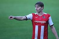 Alex Hartridge of Exeter City during Gillingham vs Exeter City, Emirates FA Cup Football at the MEMS Priestfield Stadium on 28th November 2020