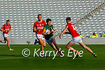 Tom Doyle Kerry takes on Cork's Niall Hartnett during the U20 MFC game in Pairc Uí Caoimh last Thursday evening