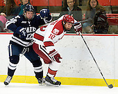 Tommy Fallen (Yale - 22), Eric Kroshus (Harvard - 10) - The Harvard University Crimson defeated the visiting Yale University Bulldogs 8-2 in the third game of their ECAC Quarterfinal matchup on Sunday, March 11, 2012, at Bright Hockey Center in Cambridge, Massachusetts.