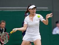 27-6-08, England, Wimbledon, Tennis,    Zheng