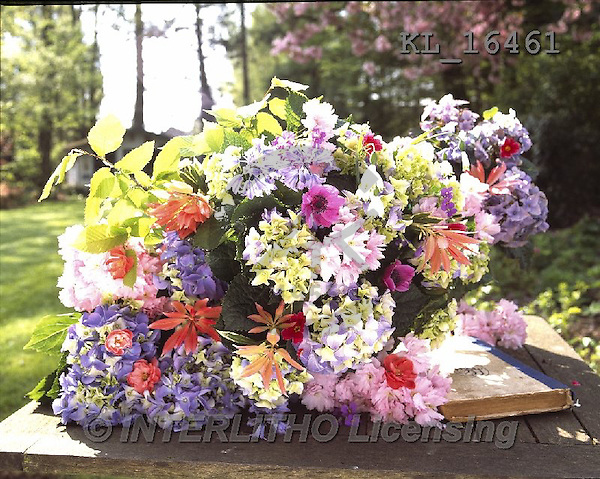 Interlitho, FLOWERS, BLUMEN, FLORES, photos+++++,flowers, table, book,KL16461,#F#