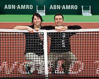 13-02-11,  Tennis, Rotterdam, ABNAMROWTT 2011, Scheidsrechterspaar
