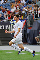 Colin Clark (13) of the United States (USA). The United States and Haiti played to a 2-2 tie during a CONCACAF Gold Cup Group B group stage match at Gillette Stadium in Foxborough, MA, on July 11, 2009. .